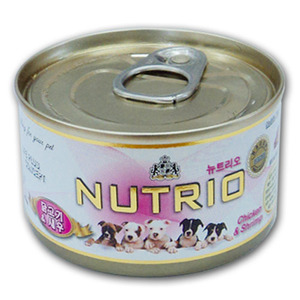 [뉴트리오] 닭고기&새우 100g