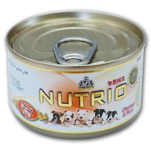 [뉴트리오] 닭고기&쌀 100g