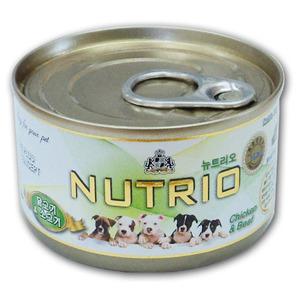 [뉴트리오] 닭고기&소고기 100g