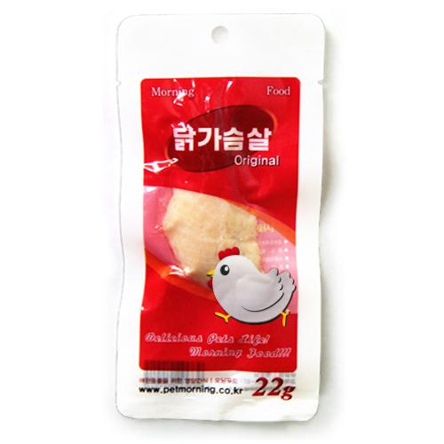 [펫모닝] 닭가슴살 오리지널 22g