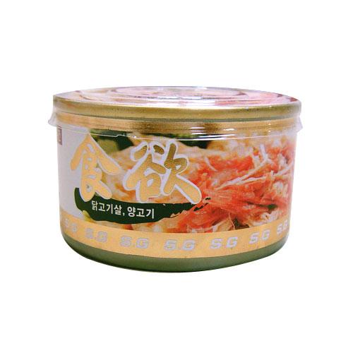 [식욕] 닭고기+양고기 캔 100g