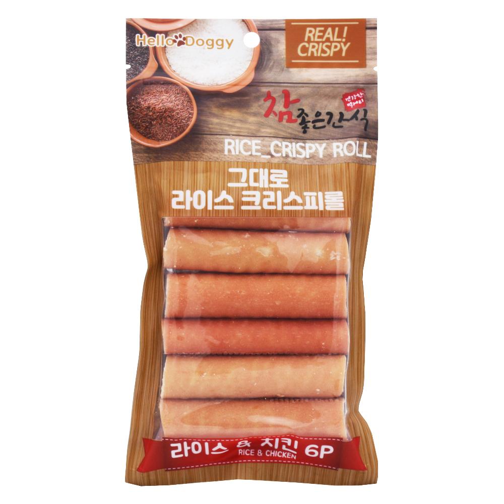 참좋은간식 치킨&라이스 크리스피 6p