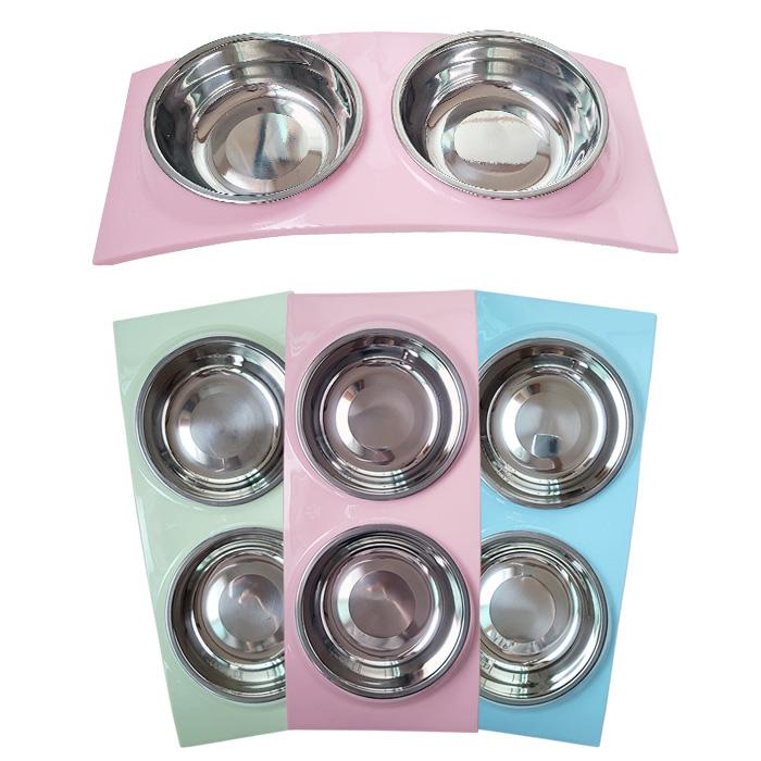 우쭈쭈 뉴블링 스텐식기 (핑크)