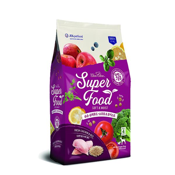 슈슈 슈퍼푸드 소프트&모이스트 1.2kg 강아지사료
