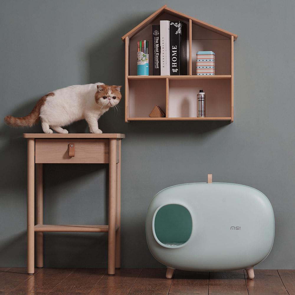 메이크슈어 고양이 화장실 (민트)
